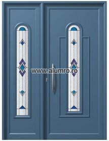 Usa din aluminiu pentru exterior - E908-E553 Deco1 - Usi din aluminiu pentru exterior - E 2000