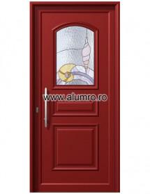 Usa din aluminiu pentru exterior - P6121 Vitro 2 - Usi din aluminiu pentru exterior - P 6000