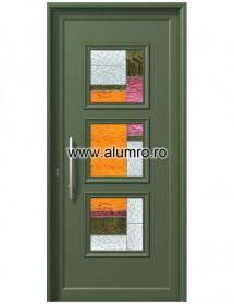 Usa din aluminiu pentru exterior - P6153 Vitro 1 - Usi din aluminiu pentru exterior - P 6000