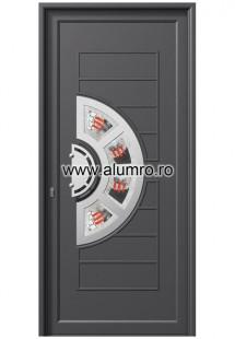 Usa din aluminiu pentru exterior INOX 300 - I346fu3 - Usi din aluminiu pentru exterior - INOX 300