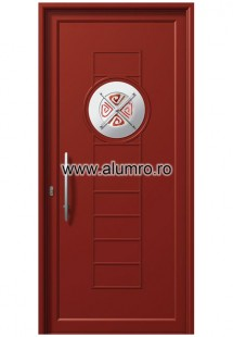 Usa din aluminiu pentru exterior INOX 300 - I373mfu1 - Usi din aluminiu pentru exterior - INOX 300