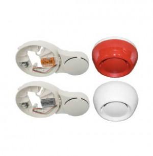 Soclu cu sirena, sirena de alarmare DBS720, FDS221-R, FDS221-W - Echipamente detectie si alarmare adresabile