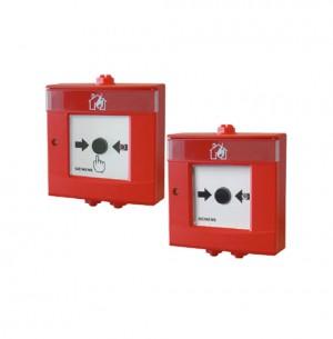 Buton comanda alarmare manuala FDM223H, FDM224H - Echipamente detectie si alarmare adresabile