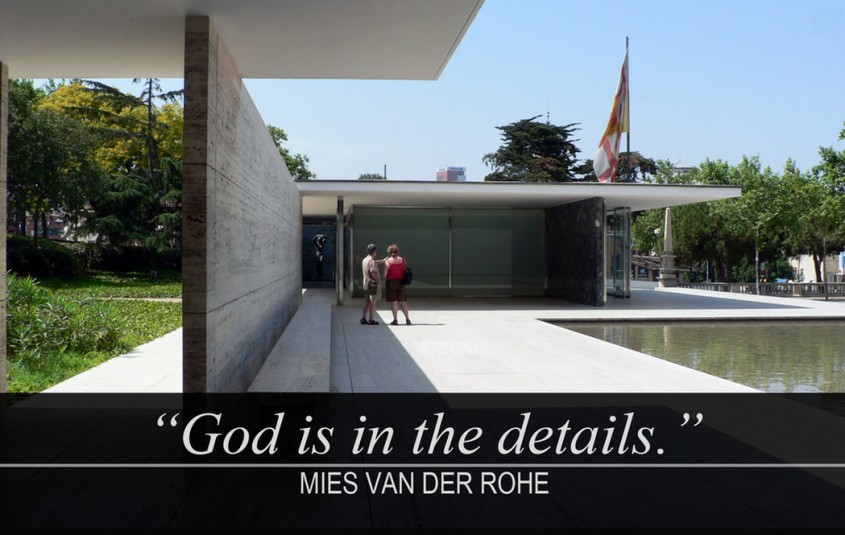 """Dumnezeu este in detalii"" - Citate celebre ale marilor arhitecti"
