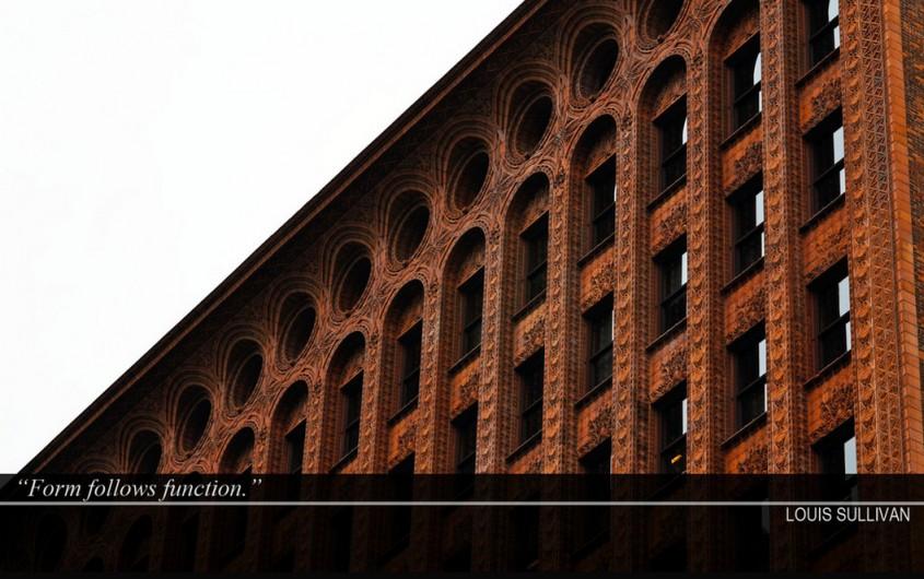"""Forma urmeaza functia"" - Citate celebre ale marilor arhitecti"