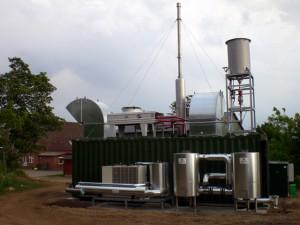 Cogenerare pe biogaz din epurare - Centrale de cogenerare