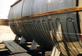 Degivrare rezervoare, vase stocare - Aplicatii ale cablurilor de degivrare SHTL