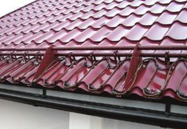 Degivrare acoperis - Aplicatii ale cablurilor de degivrare SHTL