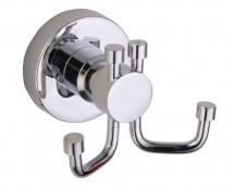 Cuier dublu - 1188C - Accesorii pentru baie - SANOTECHNIK