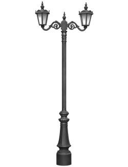 Stalp ornamentali pentru iluminat City 2FS - Stalpi ornamentali pentru iluminat stradal