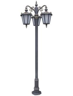 Stalp ornamentali pentru iluminat Lyon 3FJ - Stalpi ornamentali pentru iluminat stradal
