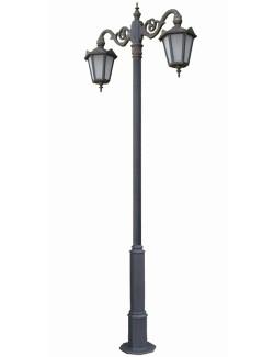 Stalp ornamental pentru iluminat Napoca 2FJM - Stalpi ornamentali pentru iluminat stradal