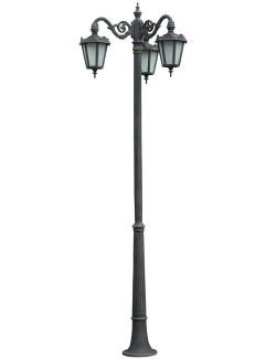 Stalp ornamental pentru iluminat Parma 3FJ - Stalpi ornamentali pentru iluminat stradal