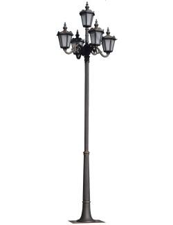 Stalp ornamental pentru iluminat Parma 5FS - Stalpi ornamentali pentru iluminat stradal