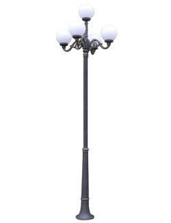 Stalp ornamental pentru iluminat Parma 5G30AS - Stalpi ornamentali pentru iluminat stradal