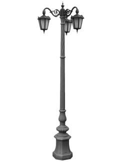 Stalp ornamental pentru iluminat Plaza 3FJ - Stalpi ornamentali pentru iluminat stradal
