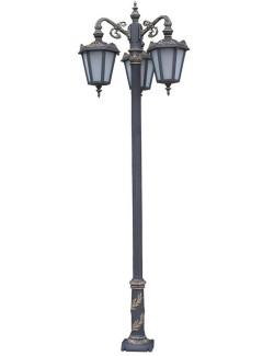 Stalp ornamental pentru iluminat Viena 3FJ - Stalpi ornamentali pentru iluminat stradal