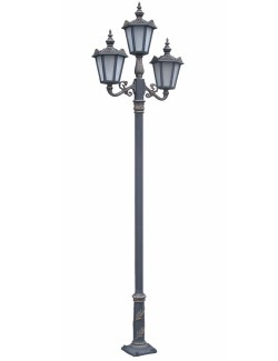 Stalp ornamental pentru iluminat Viena 3FSD - Stalpi ornamentali pentru iluminat stradal