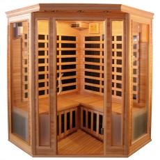 Sauna cu rezistente Carbon-Magneziu - 60625 - Saune din brad canadian cu rezistente Carbon-Magneziu - SANOTECHNIK