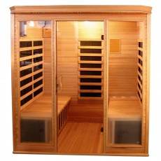 Sauna cu rezistente Carbon-Magneziu - 60626 - Saune din brad canadian cu rezistente Carbon-Magneziu - SANOTECHNIK