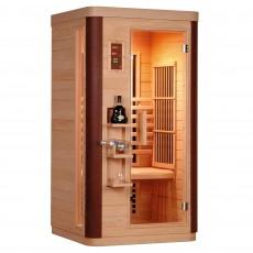Sauna cu rezistente Carbon-Magneziu DIAMANT 1 - D50550 - Saune din brad canadian cu rezistente Carbon-Magneziu - SANOTECHNIK