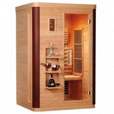 Sauna cu rezistente Carbon-Magneziu DIAMANT 2 - D50560 - Saune din brad canadian cu rezistente Carbon-Magneziu - SANOTECHNIK