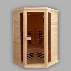 Sauna cu infrarosu APOLLO - D60730 - Saune cu infrarosu din brad canadian - SANOTECHNIK