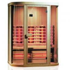 Sauna cu infrarosu NEW YORK - D70720 - Saune cu infrarosu din brad canadian - SANOTECHNIK