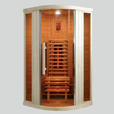 Sauna cu infrarosu RELAX 1 - D60700 - Saune cu infrarosu din brad canadian - SANOTECHNIK