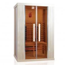 Sauna cu infrarosu RELAX 2 - D60710 - Saune cu infrarosu din brad canadian - SANOTECHNIK