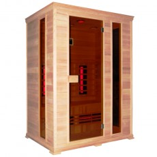 Sauna cu infrarosu CLASSICO 2 - D50540 - Saune cu infrarosu din lemn de cedru - SANOTECHNIK