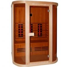 Sauna cu infrarosu SAFIR - D50520 - Saune cu infrarosu din lemn de cedru - SANOTECHNIK