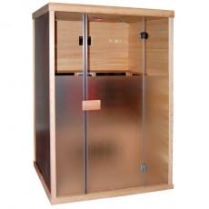 Sauna din lemn de cedru cu rezistente Carbon-Magneziu - D50510 - Saune din lemn de cedru cu rezistente Carbon-Magneziu - SANOTECHNIK