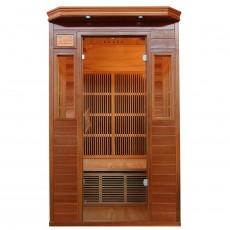 Sauna cu rezistente Carbon-Magneziu ZIRCON 1 - 60634 - Saune din lemn de cedru cu rezistente Carbon-Magneziu - SANOTECHNIK