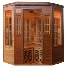 Sauna cu rezistente Carbon-Magneziu ZIRCON 2 - 60635 - Saune din lemn de cedru cu rezistente Carbon-Magneziu - SANOTECHNIK