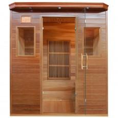 Sauna cu rezistente Carbon-Magneziu ZIRCON 3 - 60636 - Saune din lemn de cedru cu rezistente Carbon-Magneziu - SANOTECHNIK