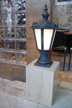 Stalpisor pentru iluminat Sofia 1FS - Stalpisori ornamentali pentru iluminat stradal