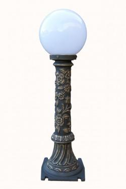 Stalpisor pentru iluminat Budapesta 1G25AS - Stalpisori ornamentali pentru iluminat stradal