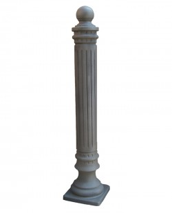 Stalp ornamental pentru protectie si delimitare Parc - Stalpi ornamentali de protectie si delimitare