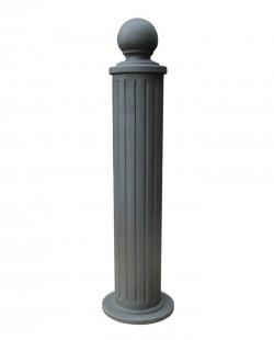 Stalp ornamental pentru protectie si delimitare urban Cilindric - Stalpi ornamentali de protectie si delimitare
