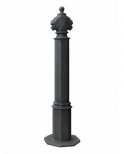 Stalp ornamental pentru protectie si delimitare Lion 110 - Stalpi ornamentali de protectie si delimitare