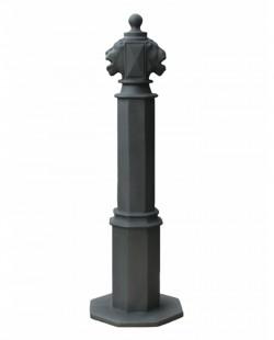Stalp ornamental pentru protectie si delimitare Lion 90 - Stalpi ornamentali de protectie si delimitare