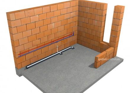Trasarea si montarea instalatiilor - Trasarea si montarea instalatiilor