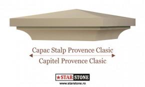 Capac pentru stalp de gard - Provence Clasic si Capitel Provence Clasic - Capace pentru stalpi de gard