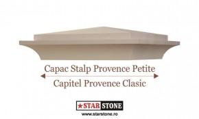 Capac pentru stalp de gard - Provence Petite si Capitel Provence Clasic - Capace pentru stalpi de gard