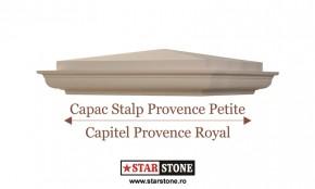 Capac pentru stalp de gard - Provence Petite si Capitel Provence Royal - Capace pentru stalpi de gard