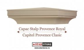 Capac pentru stalp de gard - Provence Royal si Capitel Provence Clasic - Capace pentru stalpi de gard