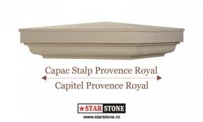 Capac pentru stalp de gard - Provence Royal si Capitel Provence Royal - Capace pentru stalpi de gard