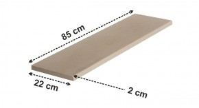 Pervaz, glaf pentrui ferestre 85x22 cm - Pervaze, glafuri ferestre
