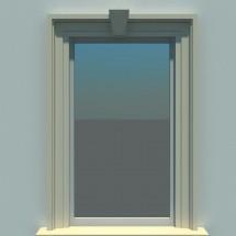 Ancadrament fereastra FP106 - Ancadramente usi si ferestre